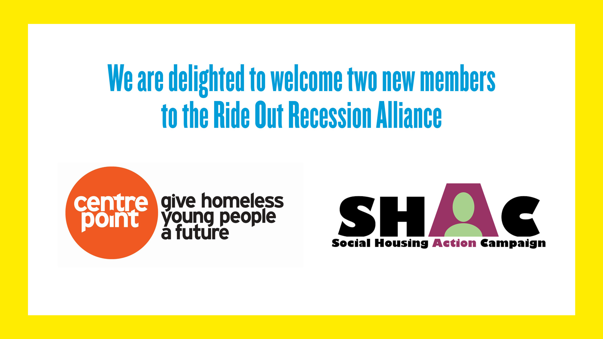 SHAC Joins RORA